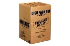 Rental store for DISHPACK BOX, 5.2 CF  18 X 18 X 28 in Morton IL