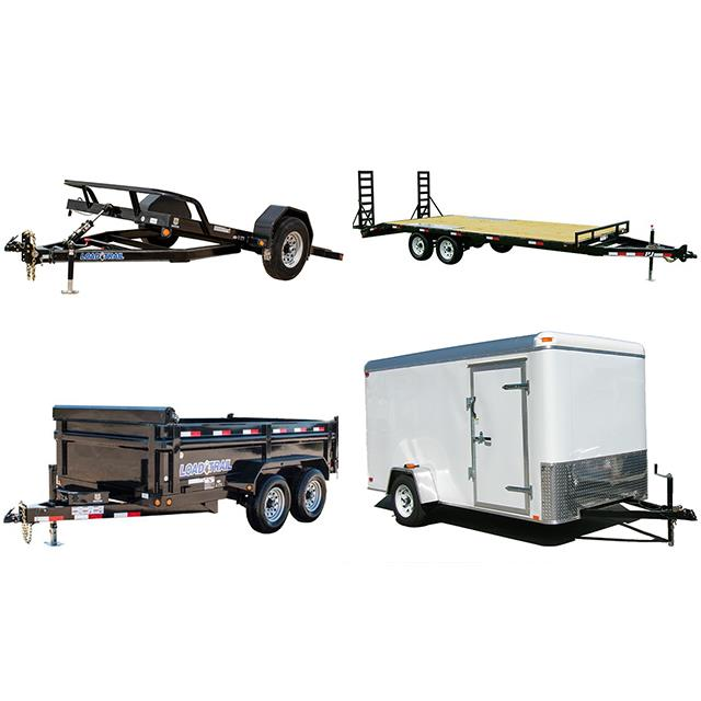Rent Trailers & Hitch